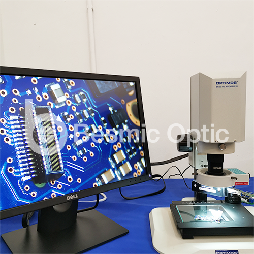 optimos vision inspection system microscope QA inspection machine