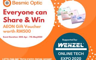 Besmic, free cash voucher, wenzel expo