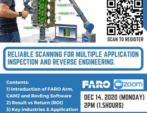 Faro Scan Arm Webinar 2020